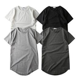Base unie couleur unie ourlet Dongdaemun et T-shirt homme TEE à manches courtes ? partir de fabricateur