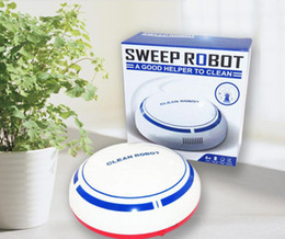 Brand new USB ricaricabile Aspirapolvere intelligente Spazzare robot Aspirapolvere sottile Mini Spazzatrice automatica Scopa Spazzatrici domestiche Robot da spazzole di pulizia dei tipi fornitori
