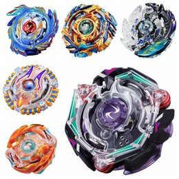 Wholesale Mini Beyblade Battle - Beyblade Booster Alter Spinning Gyro Launcher Starter String Booster Battling Top Beyblades For Kids 6 Styles 90pcs OOA4822