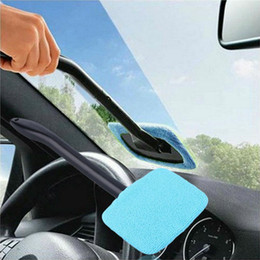 Wholesale Car Glass Wholesale - Car Windshield Wiper Cleaning Towel Brush Vehicle Windshield Shine Care Dust Remover Auto Home Window Glass Cleaner