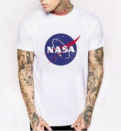 2019 i compleanni di giugno T-shirt spaziale della NASA T-shirt retrò T-shirt uomo in cotone Harajuku Marchio di moda Nasa Maglietta degli uomini Maglietta a maniche corte T-shirt estate