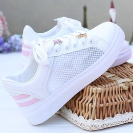 Wholesale q up - Hi-Q high quality2018 spring summer new women's shoes,Korean edition fashion comfort. Sweet tassel Hollowed-out casual mesh shoes Flat shoes