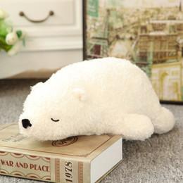 giocattoli a maglia all'ingrosso Sconti Polar Bears Toys Carino peluche giocattolo bambola di peluche regalo peluche Cuscino regalo di San Valentino