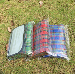 Wholesale Folding Outdoor Cushion - Multifunction blanket Cushion Outdoor Beach Picnic Folding Camping Mat Moisture Proof Waterproof Sleeping Cushion Plaid Blanket BBA5