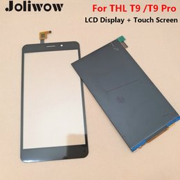 thl phones Coupons - For THL t9 or t9 pro LCD Display +Touch Screen+Tools Digitizer Assembly Replacement Accessories For Phone pro 5.5