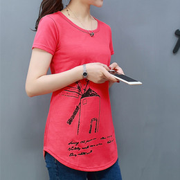 3cdf47cda28 2018 spring summer O-neck women shirts T-shirts women tops   tees printed  basic shirt t shirt cotton tunic good quality