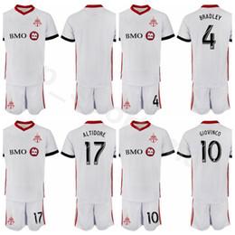 d1a5ae253 football kits NZ - Toronto FC Soccer 4 Michael Bradley Jersey 2018 2019  White 10 Sebastian