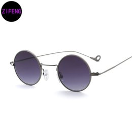 Wholesale Designer Sunglasses Ray Brand - Z F 2018 Women Designer Brand Sunglasses Tone Ray 2018 Lady Glasses Retro Round Men's Sunglasses UV400 771