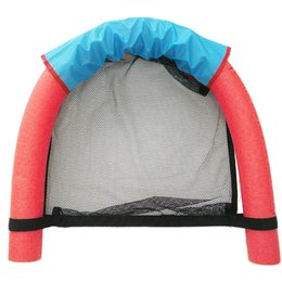 Wholesale Red Pool Water - 6.0x150CM Children Kids Soft Noodle Pool Mesh Water Floating Chair Swimming Seat