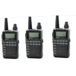 Wholesale Puxing Two Way Radios - 3 X Updated version Puxing PX-2R Plus Half dualband dual receive Two Way Radio FM transceiver Keypad LCD PX2R