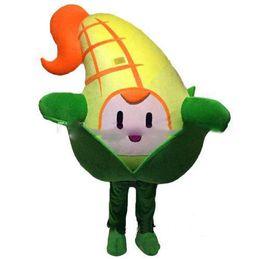 2019 disfraz de maiz Descuento venta de fábrica Cute Corn Vegetable Mascot Costume Fancy Party Dress Halloween Carnavales Disfraces disfraz de maiz baratos
