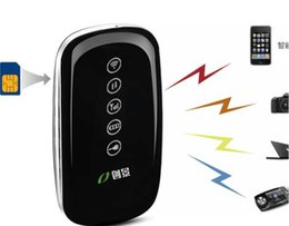 Wholesale Huawei Wi Fi - 3G 4G Mifi  Wifi Wireless Routers Modem with SIM Slot Unlocked Hotspot 1500mAh Portable Charge Power Bank PK Huawei E5331