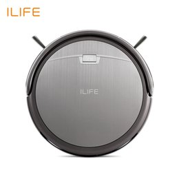 Wholesale Carpet Cleaner Brushes - Ilife A4s Robot Vacuum Cleaner With 1000pa Power Suction For Thin Carpet