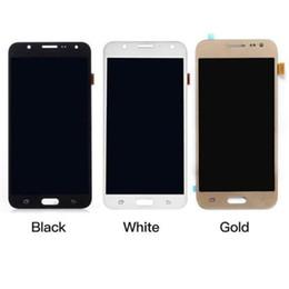 Asamblea del digitizador de la pantalla táctil de la exhibición del LCD para Samsung Galaxy J7 J700T J700F J700F / M / H / DS reemplazo de la pantalla LCD desde fabricantes