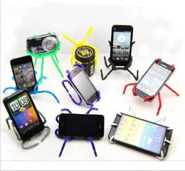 handy spinne Rabatt Flexible Spider Mount für Handy Allzweck-Universalhalter für Handys Telefon Clip Bracket Mix Farben