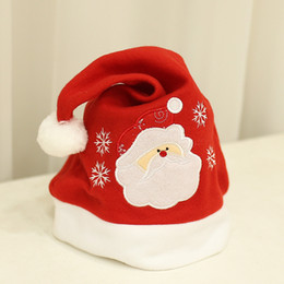 377e56ea9960a Christmas Caps Soft Plush Adult Children Snowman Santa Claus Deer Cap Christmas  Hats unisex kids adults Christmas decorations
