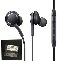 2018 nuevos Auriculares S8 Auriculares In-Ear genuinos negros EO-IG955BSEGWW Auriculares manos libres para Samsung Galaxy S8 S8 Plus Auriculares OEM desde fabricantes