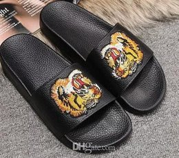buy cheap websites 2018 Fashion sandals slippers for men and women WITH BOX Hot Luxury Designer flower printed unisex beach flip flops slipper BEST QUALITY#323 cheap affordable enjoy for sale how much cheap price AY1SPdHp