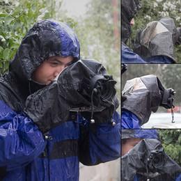 Roadfisher impermeable impermeable a prueba de polvo DSLR cámara fotografía lluvia cubierta abrigo manga manga para 5D lente desde fabricantes