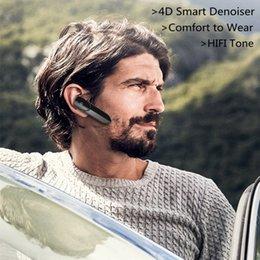 2019 fone de ouvido longo bluetooth para o telefone Fones de ouvido sem fio V4.2 Fones de ouvido Bluetooth Fones de ouvido Ultra-long Standby Bluetooth Headset fone de ouvido Bluetooth com caixa de varejo WIRE05 fone de ouvido longo bluetooth para o telefone barato