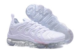 Wholesale max tn sports shoes - New Rainbow 2018 VaporMax Tn Plus BE TRUE Men Shock Casual Shoes for Real Quality Fashion Vapor Maxes Sports Sneakers Size 40-45