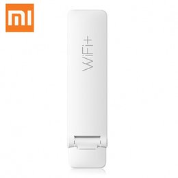 Wholesale Signal Wifi Booster - Original Xiaomi Mi WIFI Repeater 2 Amplifier Extender 2 Signal Boosters WiFi Wireless Universal Router Xiaomi Mijia Smart H