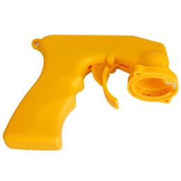 Wholesale Spray Triggers - Hot Sales Spray Adaptor Aerosol Spray Gun Handle With Full Grip Trigger Locking Collar Car Maintenance