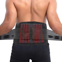 2019 accesorios de cintura baja HI NEGRO accesorios deportivos Espalda Soporte Cinturón de sujeción Lumbar Cintura Inferior Ajuste Doble Soporte de cintura trasero rebajas accesorios de cintura baja