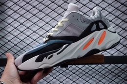 Wholesale open discount - Discount Kanye West Wave Runner 700 Running Shoes Mens Women Fashion Basketball Shoes Street Sneakers Athletic Outdoor Shoes