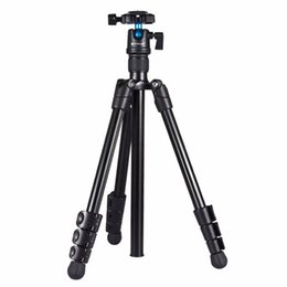 ball legs Coupons - PULUZ Foldable Camera Tripod holder 4-Section Folding Legs Metal Tripod Mount with 360 Degree Ball Head for DSLR&Digital Camer