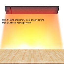 Canada énergie d'énergie économisez 30% radiateur infrarouge rayonnant JH-NR18-13A noir JHCCOL 1800W radiateur électrique pour les cafés de pièce, YOGA, salle de bains, hall, hôtel Offre