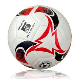 Bolas de fútbol de alta calidad de la máquina de la puntada TPU Tamaño 5 Trainning Match Footballs desde fabricantes