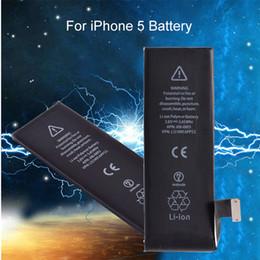 2019 pilas bl 5c Nueva batería de teléfono de ciclo cero para iPhone 5G 5s 5C 6 6S 6SPlus 7 7Plus 8 8Plus Batería de reemplazo de capacidad real para iPhone