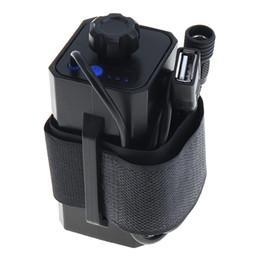 Argentina Caja de batería impermeable portátil con interfaz USB Soporte de batería 4 x 18650 para bicicleta Luz LED BTY_A03 Suministro
