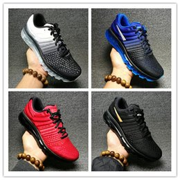 Wholesale Max Cutting - 2017 Hot Sale High Quality Mesh Knit Sportswear Men Women Maxes 2017 Running Shoes Cheap Sports Maxes Trainer Sneakers Eur 36-46