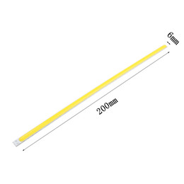 Shop thin led light strips uk thin led light strips free delivery 200mm cob led dc12v 8w super thin new flip strip tube l200xw6mm hard bar light car light source for diy lighting project 10pcs mozeypictures Image collections