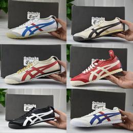 2019 las mejores zapatillas ligeras Whosale Best Asics Onitsuka Tiger Running Shoes Para hombres mujeres de calidad superior Cheap Lightweight Online Sport Sneakers Eur 36-45 las mejores zapatillas ligeras baratos