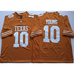 2019 texas longhorns jerseys Hombres Texas Texas Longhorns Vince Young nombre cosido Número de American College Football Jersey Tamaño S-3XL texas longhorns jerseys baratos