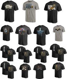 Wholesale Big Tall Men Shirts - NHL T-shirt Vegas Golden Knights 2018 Stanley Cup Playoffs Bound War Room Big & Tall Home Ice Advantage Tri-Blend Shirt