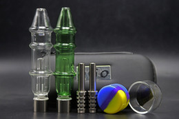 water pipes bag Coupons - 2018 Grace Dab Straw Honeybird Wtare Pipe With Titanium Tip Concentrate Honey Oil Rigs Glass Water Pipe With Ego Bag