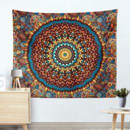2019 colchas azuis claras Home Textile Blanket Mandala estilo pastoral suprimentos quarto colorido cobertores xadrez domésticos Detalhes