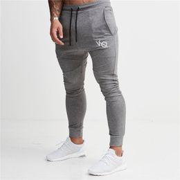 blue mens leggings Australia - 2018 Skinny Sport Leggings Men Running Sweatpants Sportswear Joggers Tights Mens Gym Fitness Pants Elastic Cotton Trousers men