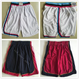 Wholesale team edition - City Edition Men 3 Dwyane Wade Basketball Shorts Hassan Whiteside Pant Goran Dragic Trousers Breathable Team Black Away Red Short