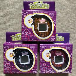 DHL gratuit 50pc / lot led jouets tamagochi 49 en 1 virtuel machine électronique pour animaux de compagnie numérique électronique e-animal rétro Cyber jouet ? partir de fabricateur