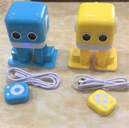2019 haut-parleur bluetooth anglais Cubee Robot Intelligent Robots De Danse F9 App control Robot Électronique Bluetooth Haut-Parleur Enfants Early Education Robot avec emballage anglais promotion haut-parleur bluetooth anglais