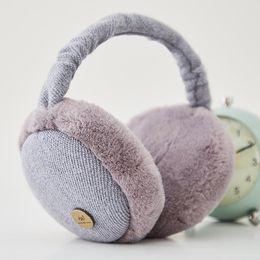 Unisex New Cute Foldable Colorful Earmuffs Ear Warmers Earmuffs Earflap Winter women ear muffs bandeau cache oreille #PL432 от