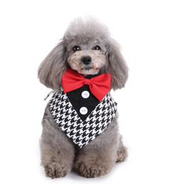 Wholesale Pink Dog Scarf - Amazon Hot Sell Pet Product Fancy Doggy Necktie Simple Dog Bandanas Puppy Accessories Dog Collar Scarf