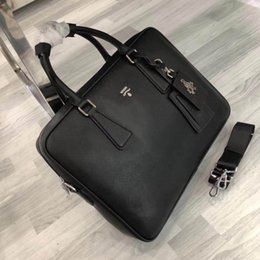 Wholesale luxury work bags - high quality classic Briefcases Luxury brand leather Briefcases fashion work bags 3 Style Size 38*28*8 cm model 0305F