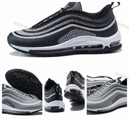 48219bbb443f54 2019 Air Chaussures 97 Ultra SE Running Shoes Fashion Designer Sneakers Men  97s UL 17 OG Silver Bullet Cushion Mens Trainers Maxes 36-45