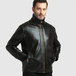 Canada Sari India Pakistan Vêtements 2017, vente de nouveau manteau européen et américain de pu, veste de mode des hommes, cuir de locomotive plus Offre